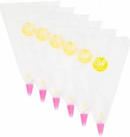 Wilton Wilton Disposable Bags & Tips #1M pk/6