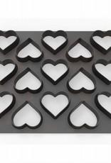Dekofee Dekofee Polycutter Hearts