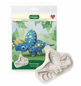 Katy Sue Designs Katy Sue Mould Triceratops