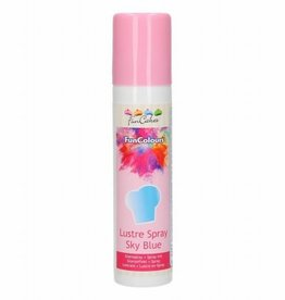 FunCakes FunCakes FunColours Metallic Spray -Sky Blue- 100ml
