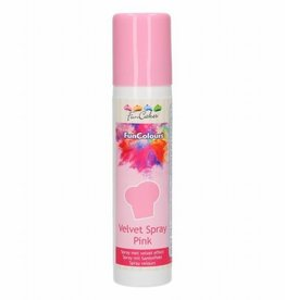 FunCakes FunCakes FunColours Velvet Spray -Pink- 100ml