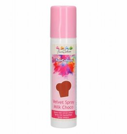FunCakes FunCakes FunColours Velvet Spray -Milk Choco- 100ml