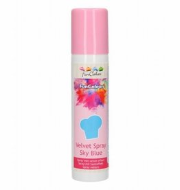 FunCakes FunCakes FunColours Velvet Spray -Sky Blue- 100ml