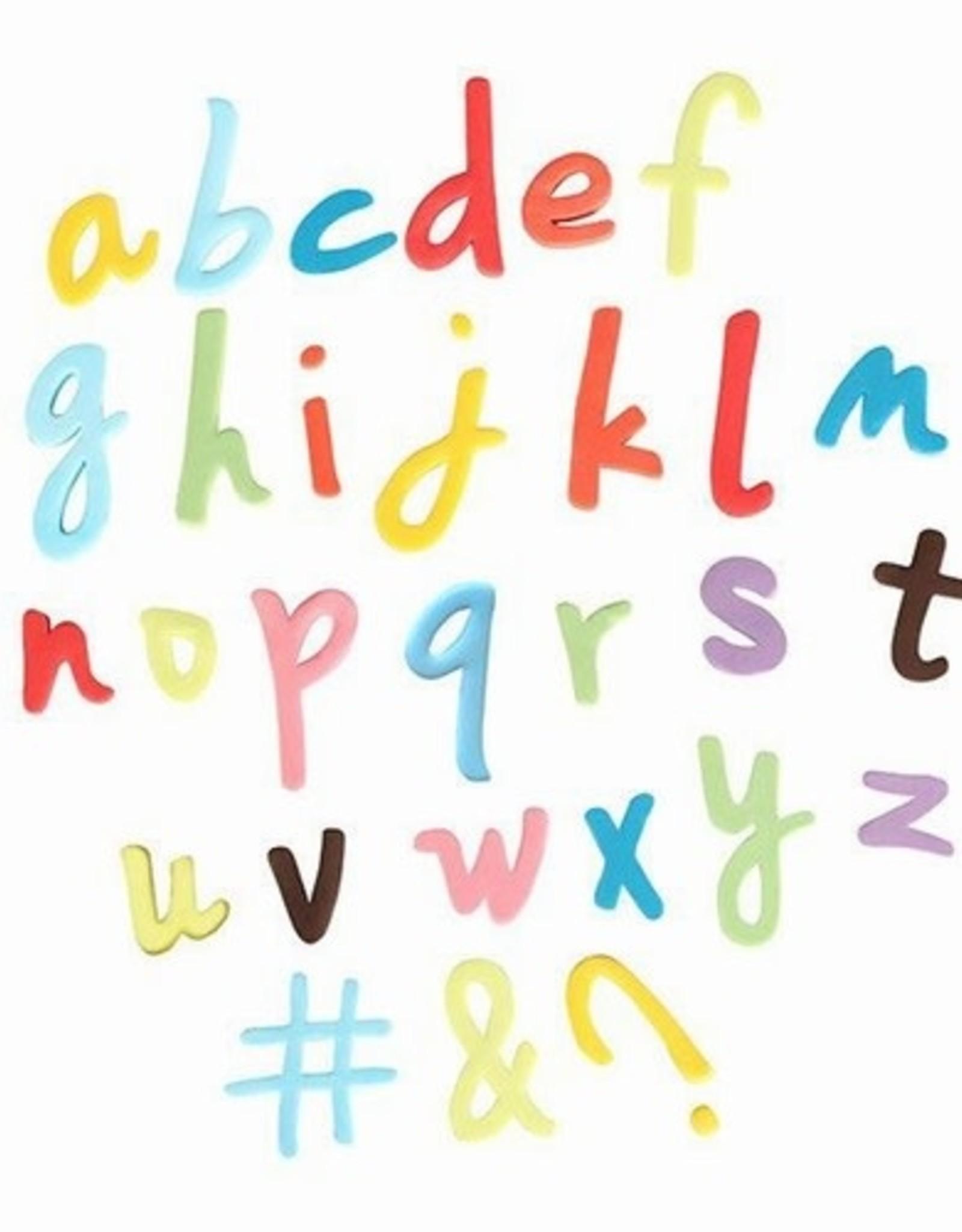 Cake Star Cake Star Push Easy Alphabet Cutters Lowercase Script Set/26