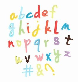 Cake Star Push Easy Alphabet Cutters Lowercase Script Set/26
