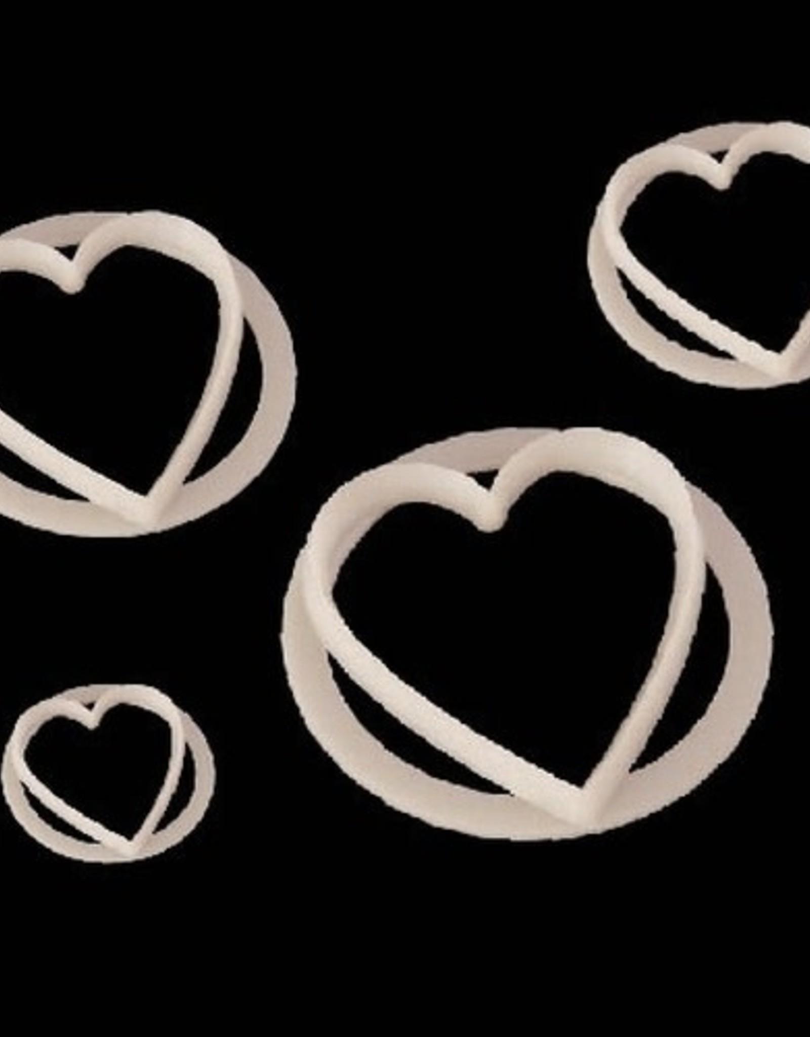 FMM FMM Heart Cutter Set/4