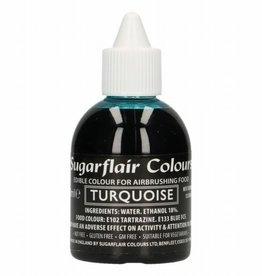 Sugarflair Sugarflair Airbrush Colouring - Turquoise - 60ml
