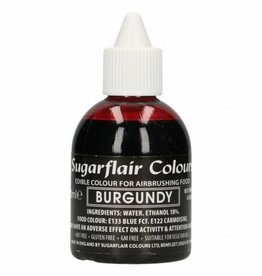 Sugarflair Airbrush Colouring - Burgundy - 60ml