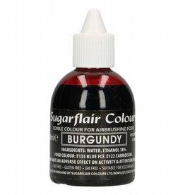 Sugarflair Sugarflair Airbrush Colouring -Burgundy - 60ml