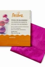 Decora Decora Foil Wrappers Magenta pk/150