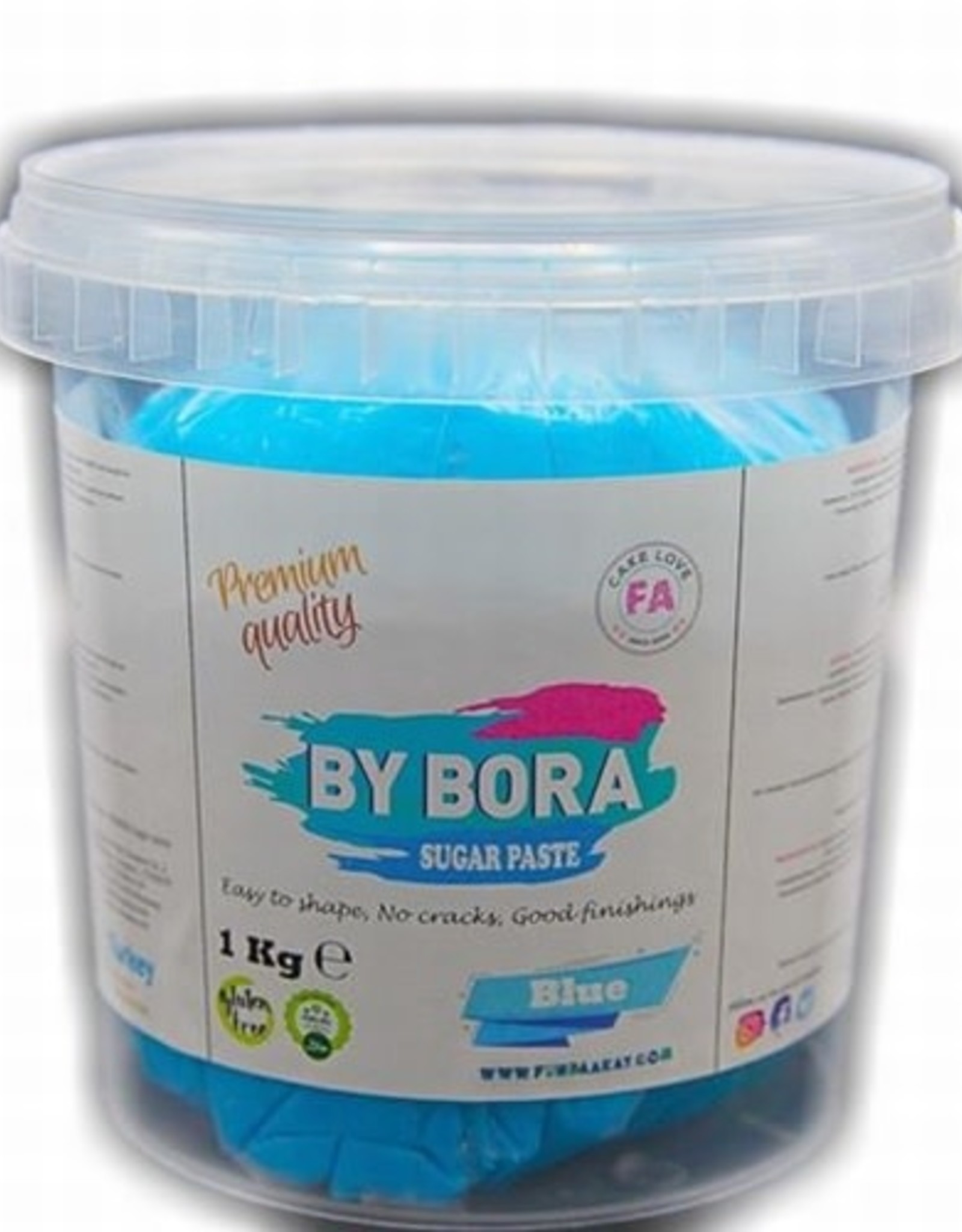 By Bora By Bora Blue - 2,5kg emmer