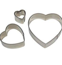 PME Heart Cutters Set/3