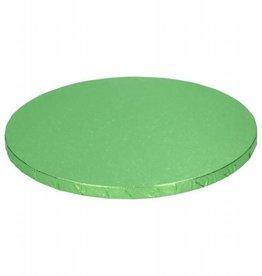 Cake Drum Rond Ø25cm -Licht Groen-