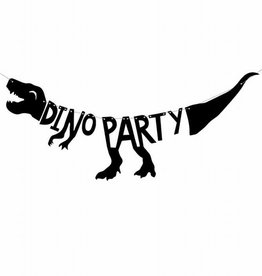 PartyDeco PartyDeco Banner Dinosaurs