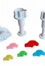 Dekofee Dekofee Mini Plungers Cars set/3