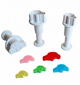 Dekofee Dekofee Mini Plungers Cars set/3