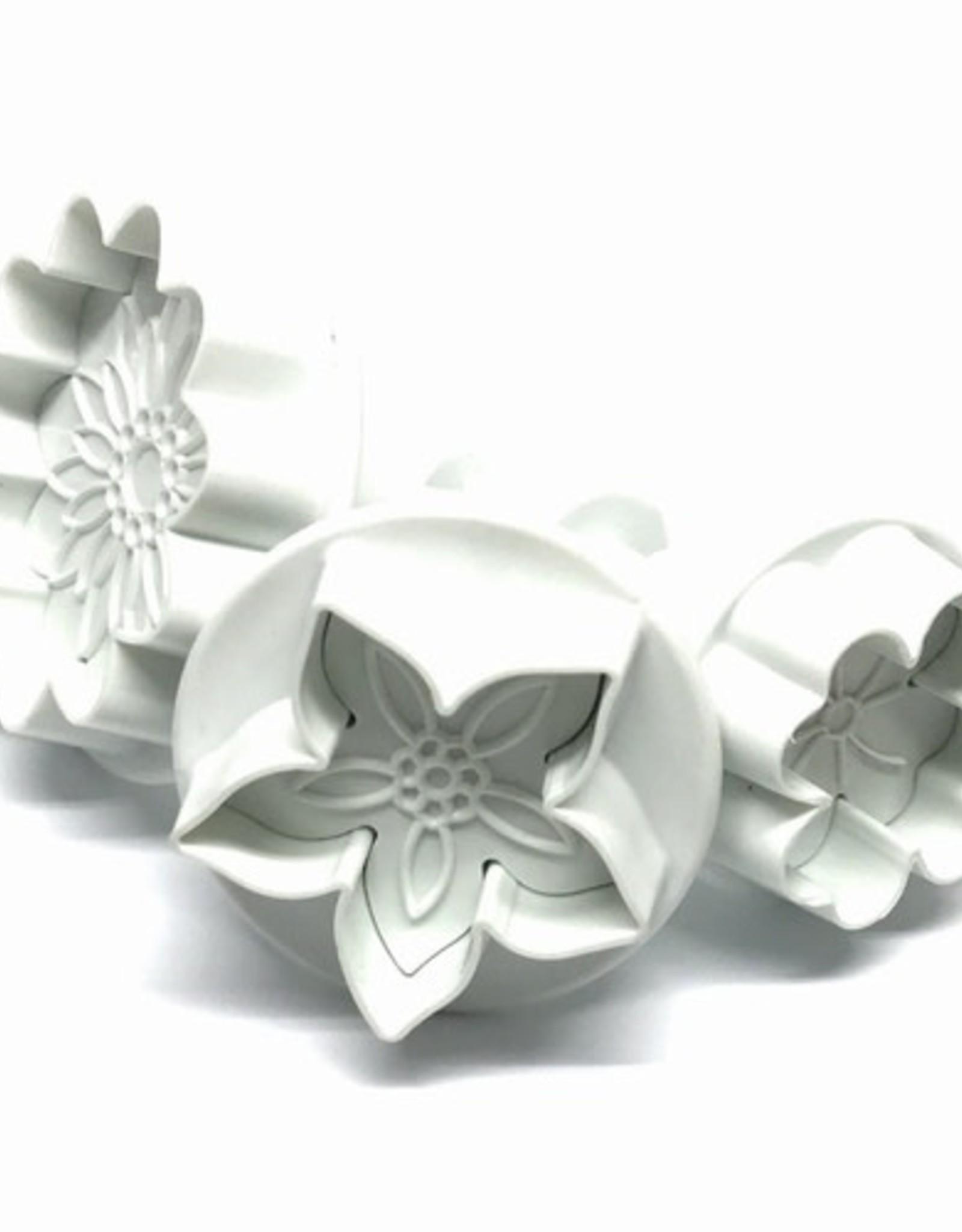 Dekofee Dekofee Plungers Flowers Mix set/3