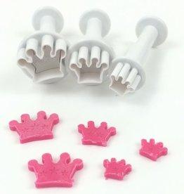 Dekofee Dekofee Mini Plungers Crowns set/3