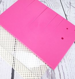Pink Non-Stick Veining Board