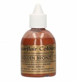 Sugarflair Sugarflair Airbrush Colouring -Golden Bronze- 60ml