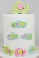 FMM FMM Mummy & Baby Elephant Cutter Set/4