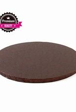 Cake Drum Rond Ø30,5cm Bruin