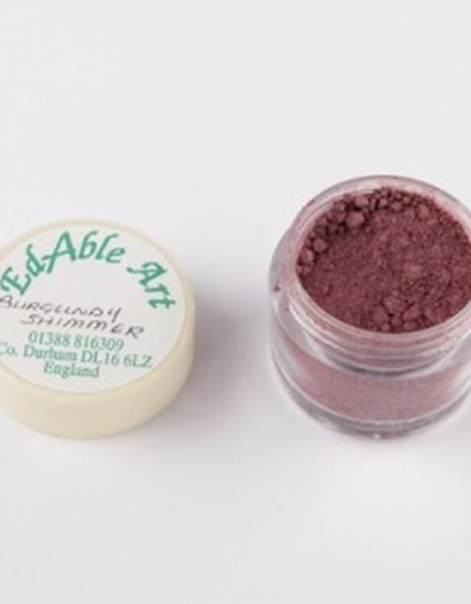EdAble Art EdAble Art Tints & Pearls Burgundy Shimmer