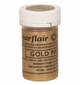 Sugarflair Sugarflair Edible Matt Paint -Gold- 20g