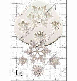 FPC FPC Snowflakes/Sneeuwvlokken 4 verschillende