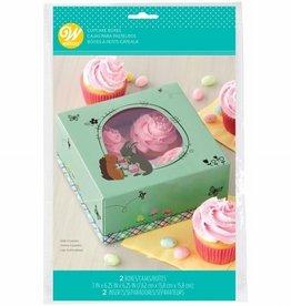 Wilton Wilton Cupcake Box Easter pk/2