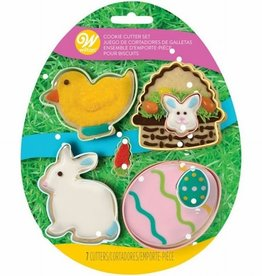 Wilton Wilton Cookie Cutter Easter Set/7