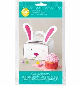 Wilton Wilton Cupcake Box Bunny pk/3