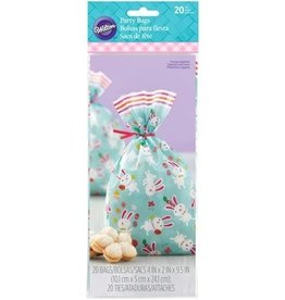 Wilton Wilton Treat Bags Eggclectic pk/20