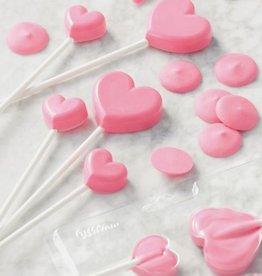 Wilton Wilton Lollipop Mold Mini Hearts