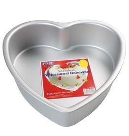 PME Diepe Hartvormige Bakvorm  30 x 7,5 cm