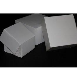 Witte Taartdozen 30x30x10cm /10st