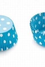 Decora Decora Baking Cups Light Blue Dots 50X32mm/75