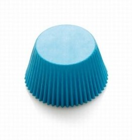 Decora Baking Cups Light Blue 50X32mm/75