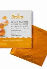 Decora Decora Foil Wrappers Orange pk/150