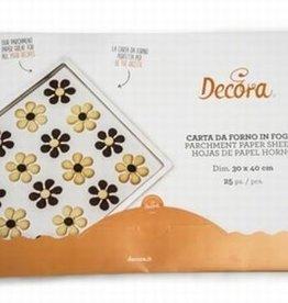 Decora Non-Stick Parchment Paper Sheets 40 x 30cm