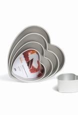 Decora Decora Prof Aluminium Deep Heart Cake Pan 35 x 7,5cm