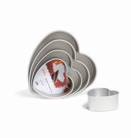 Decora Prof Aluminium Deep Heart Cake Pan 35 x 7,5cm