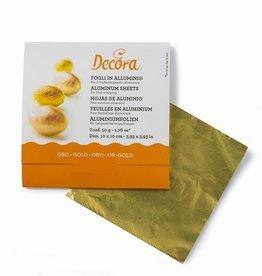 Decora Foil Wrappers Gold pk/150