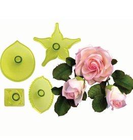 JEM Large Rose Cutters Set/4