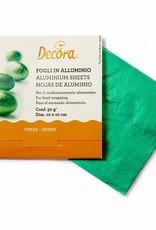 Decora Decora Foil Wrappers Green pk/150