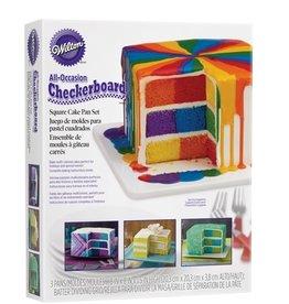 Wilton Wilton Checkerboard Square Cake Set