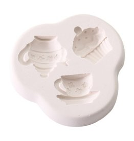 Squires Kitchen SK Great Impressions Mould Teatime Treat 1
