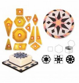 JEM JEM Geometrical Cutters - set/12