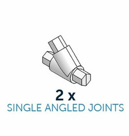 CakeFrame Single Angled Joint Pack/2