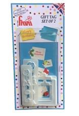 FMM FMM Gift Tag Cutter Set/4